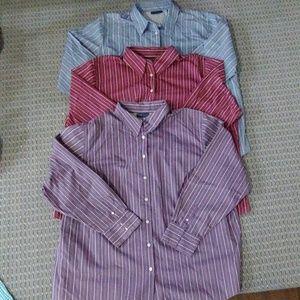 Karen Scott plus size 3 shirt bundle